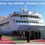 С вводом в эксплуатацию в Туркменистане первого парома класса Ro-Pax вырисовываются перспективы транспортного кольца в Каспийском море