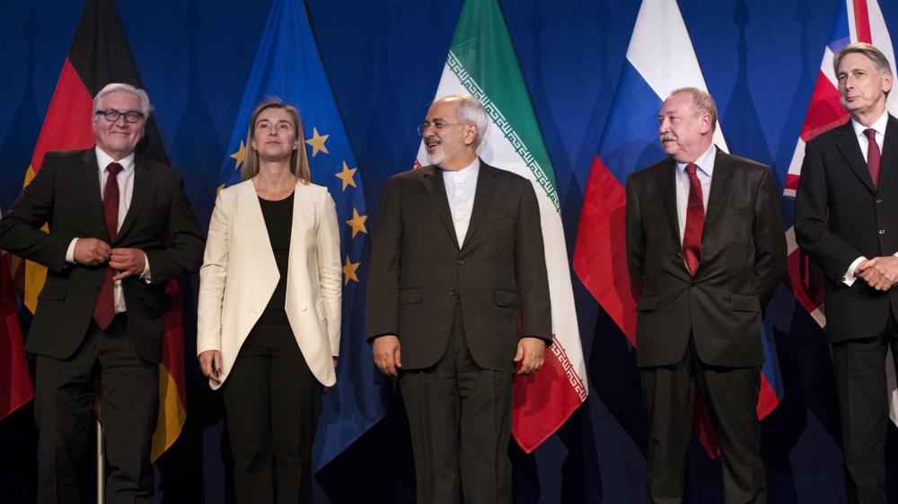 Iran Nuclear Deal -- Vienna, 14 July 2015 --- (Image copyright Al Jazeera)