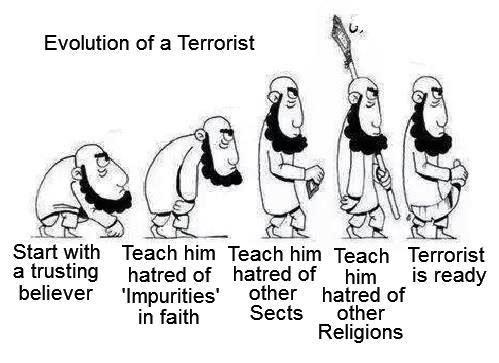 Evolution of Terrorist