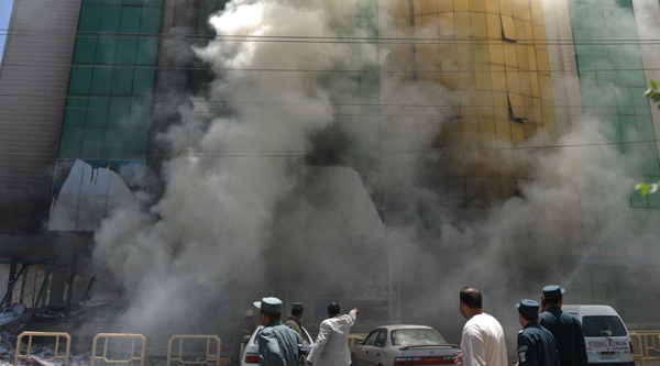 MSF Hospital bombed by US forces in Kunduz
