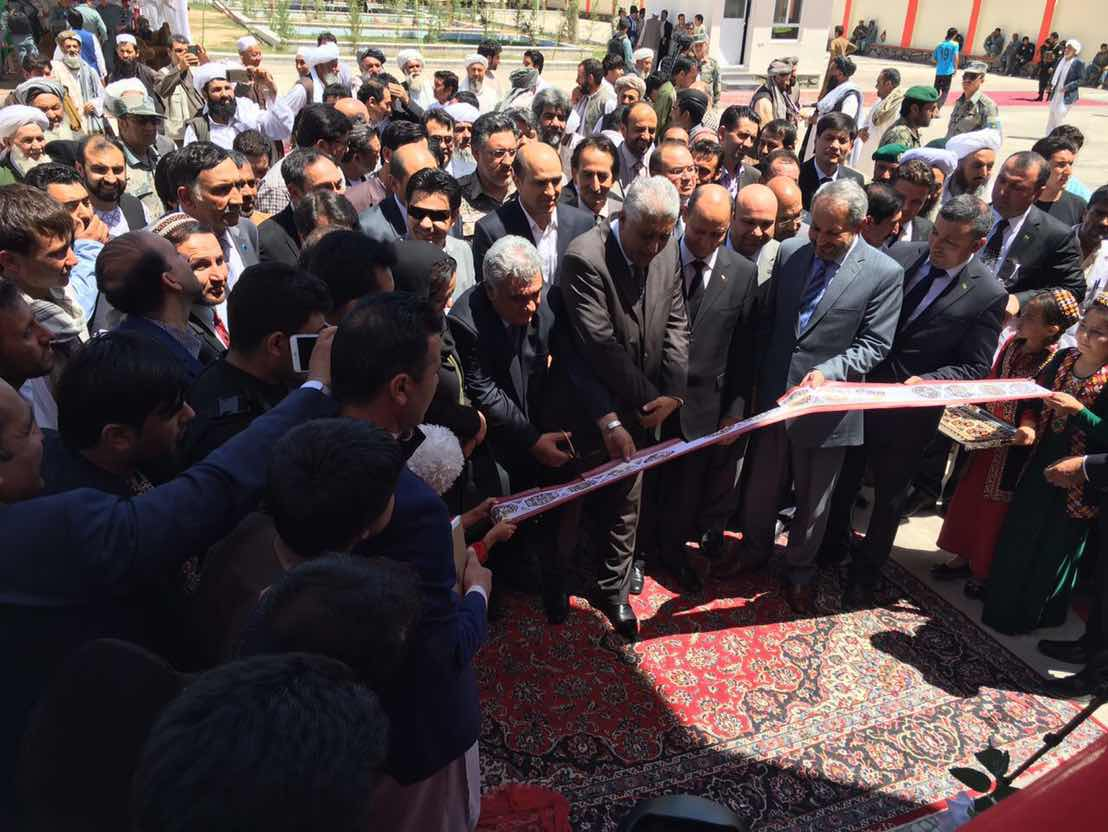 Minister of health of Afghanistan performs opening of maternity home built by Turkmenistan