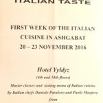 First Italian Cuisine Week concludes in Ashgabat