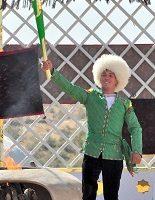 Зажженный факел Азиатских Игр направился в Олимпийский городок Ашхабада
