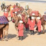 Туркменистан воспроизводит сцены жизни Великого Шелкового Пути